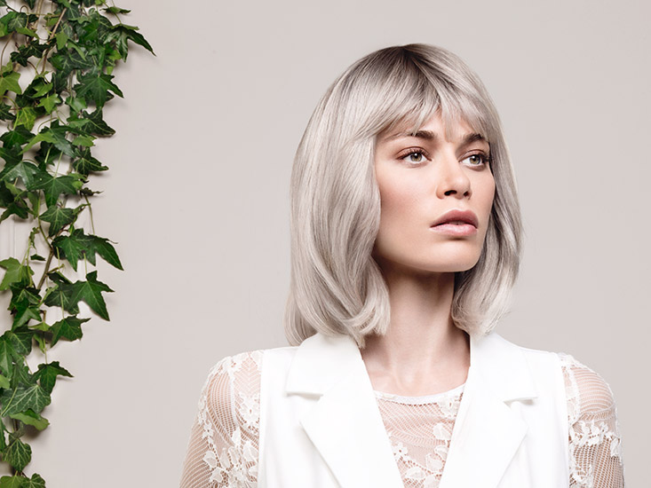 Retouche Cheveux - Kydra Smoky Blond Grey