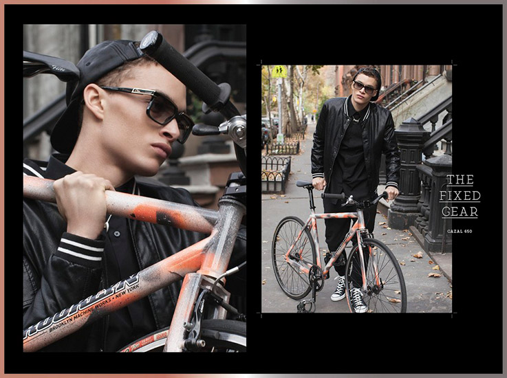 Retouche Cazal Lookbook 2014 - Director's Cut
