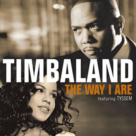 Retouche Tyssem - Timbaland featuring Tysem - The way I are (single)