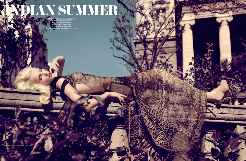 L'Officiel Ukraine - Édito Indian Summer