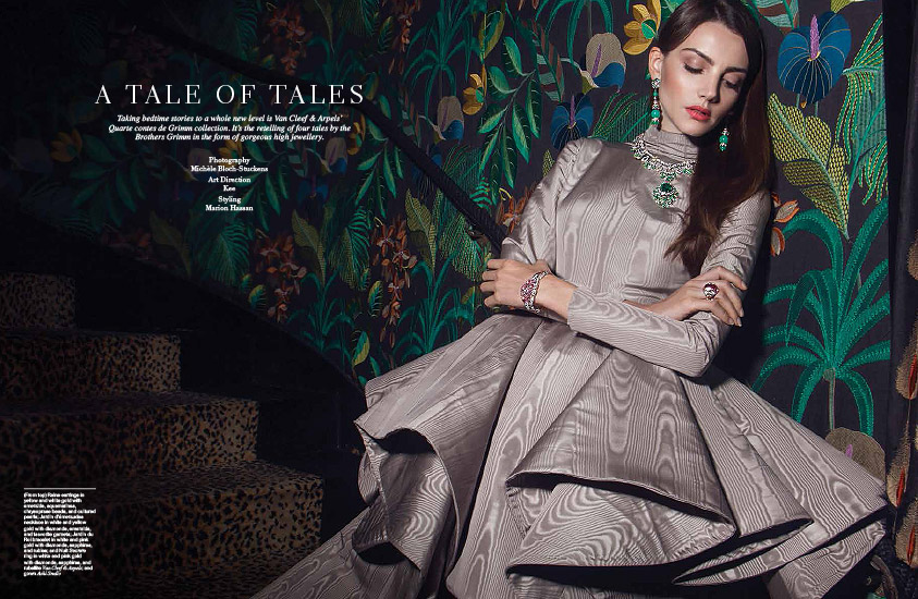Retouche Manifesto - Édito Manifesto - Édito Van Cleef & Arpels : A Tale of Tales