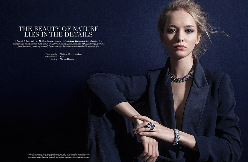 Retouche Manifesto - Édito Boucheron : The beauty of nature lies in the details