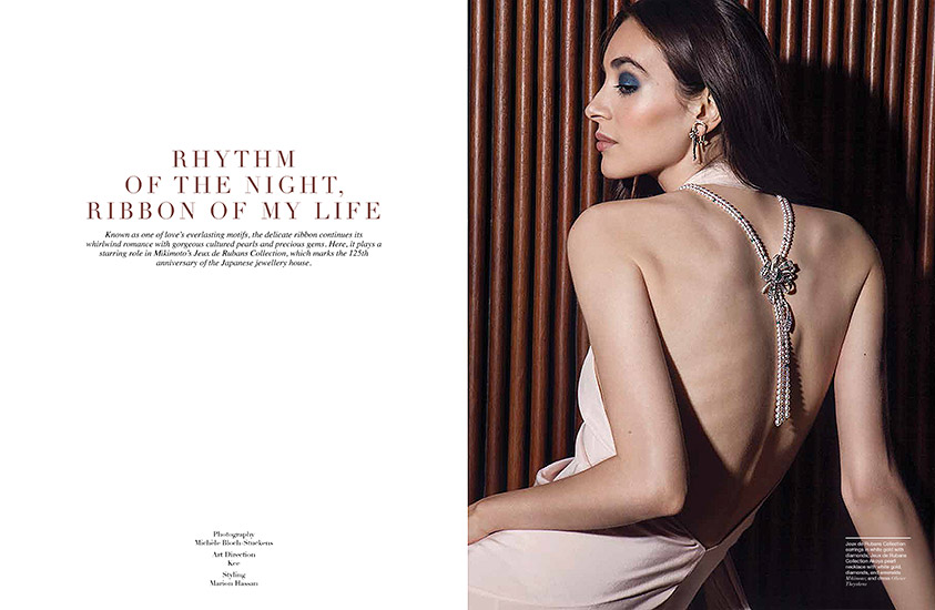 Retouche Manifesto - Édito Mikimoto : Rhythm of the Night Ribbon of my Life