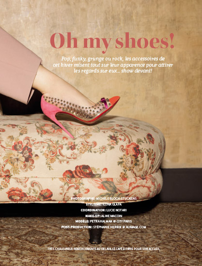 Retouche Profil n°135 - Édito Oh my shoes !