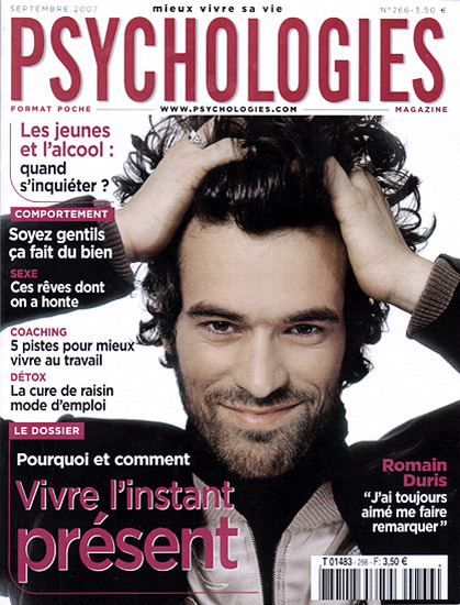 Retouche Psychologies - Romain Duris