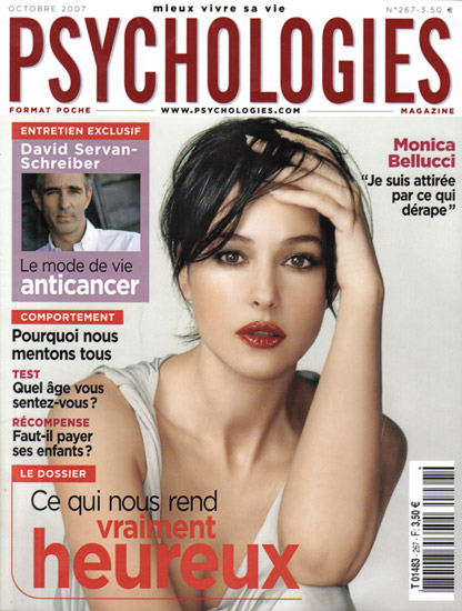 Retouche Psychologies - Monica Bellucci