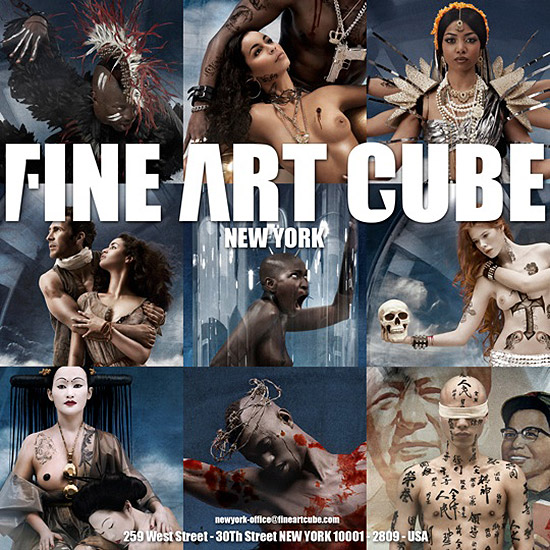 Retouche Fine Art Cube New York